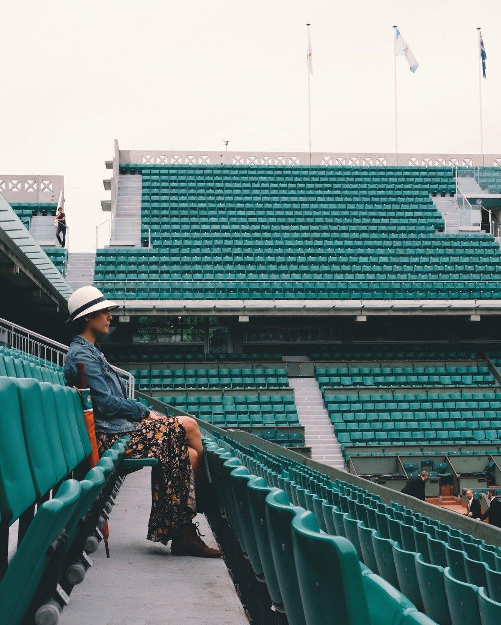 Empty RG Stadium