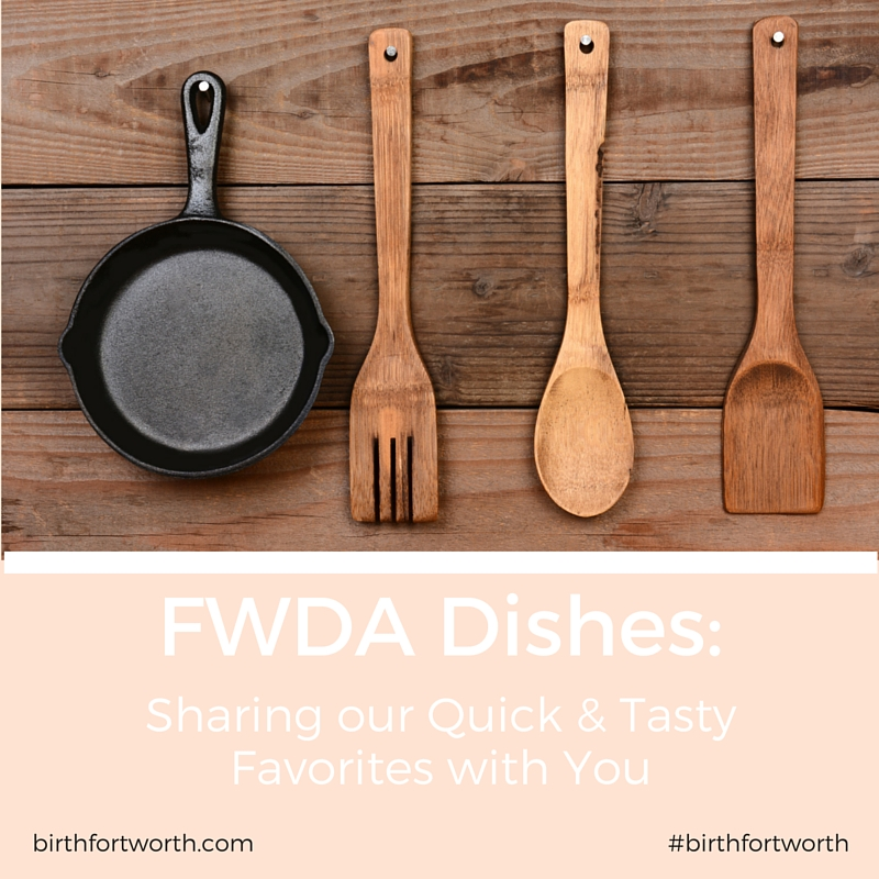 Fort Worth Doula Associates Dishes