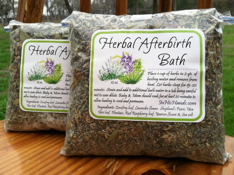 Postpartum Herbal Bath