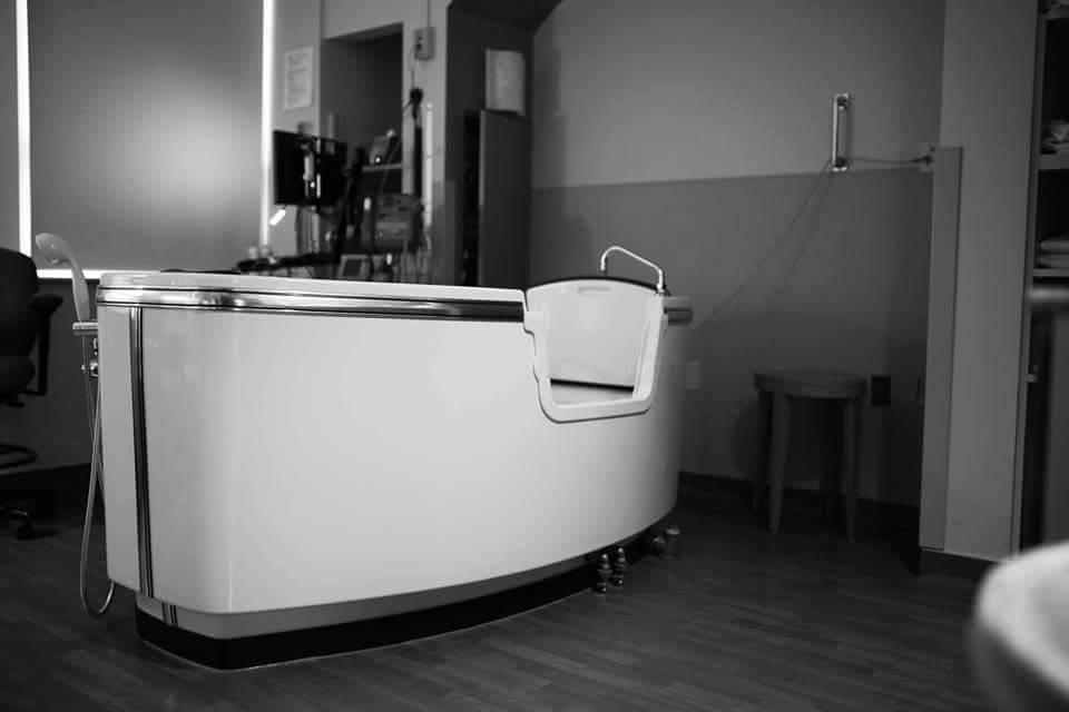 Birth Tub at Harris Fort Worth, Acclaim Nurse Midwives