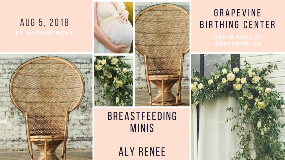 Breastfeeding Portraits at Grapevine Birthing Center