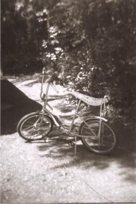 Holga bike banana seat vintage
