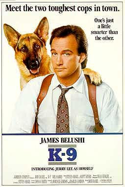 K-9 movie belushi german shepherd