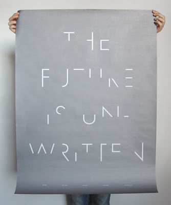 the future is unwritten