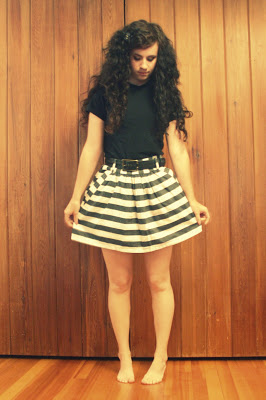 cute outfit monochromatic black white nautical forever 21