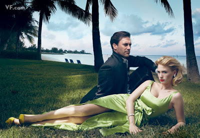 mad men vanity fair shoot