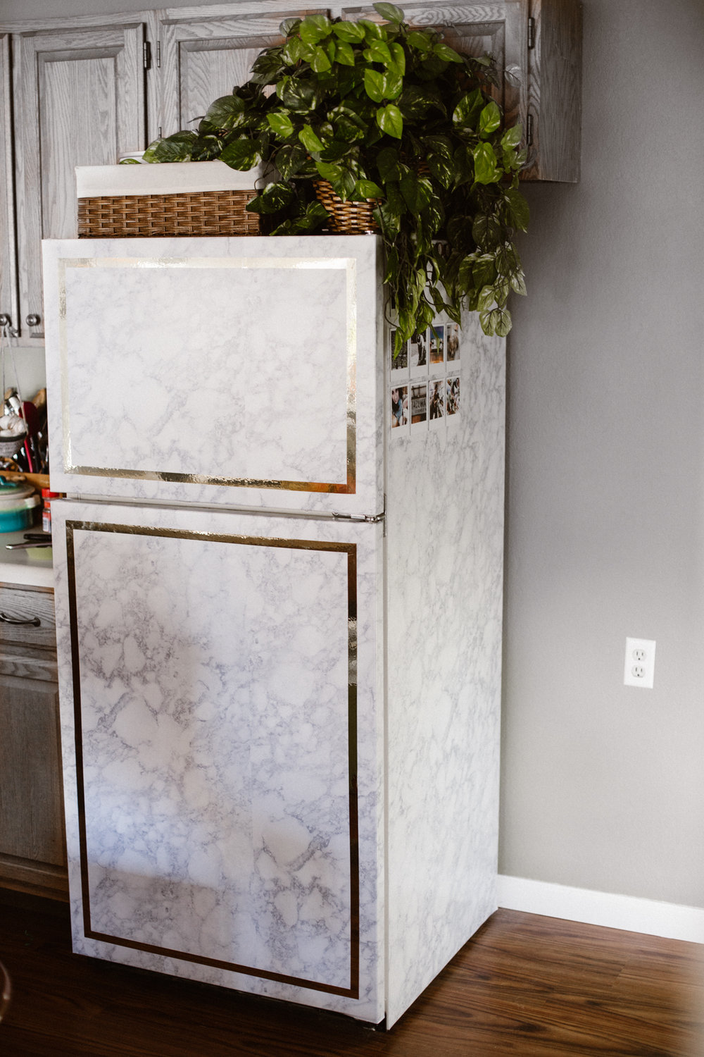 covering furniture with contact paper. If You Guys Know Me, I Can\u0027t Just Have A Regular Fridge. In My Last Three Places I\u0027ve Re-covered Fridge With Contact Paper, Covering Furniture Paper
