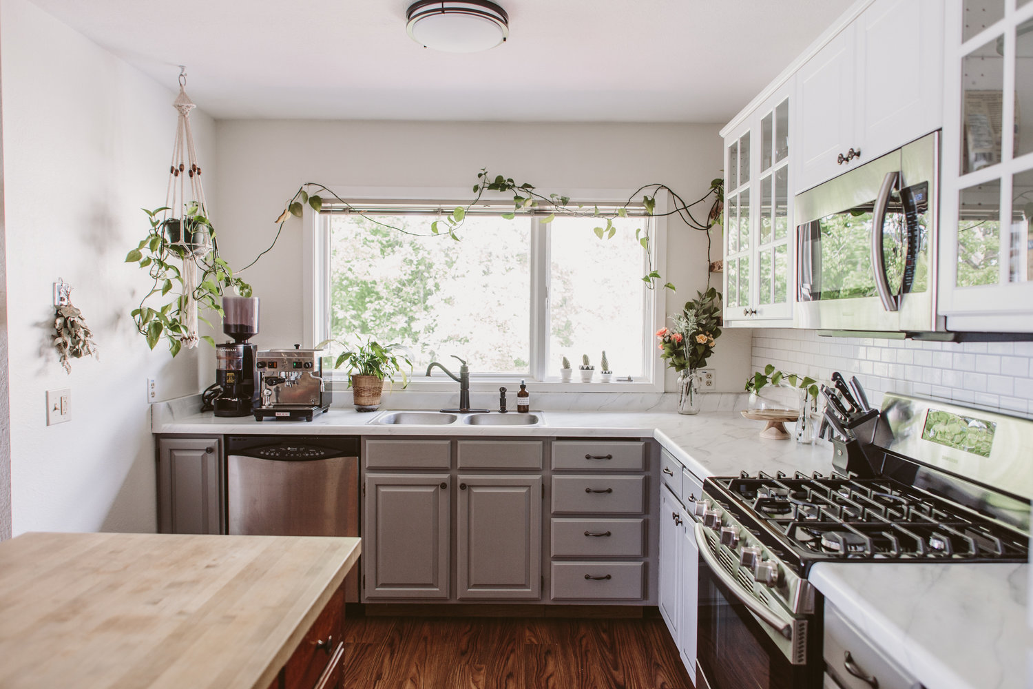 Our Apartment Kitchen Remodel — Liz Morrow Design