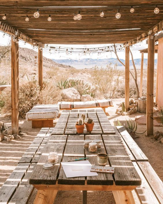 image via  the joshua tree house