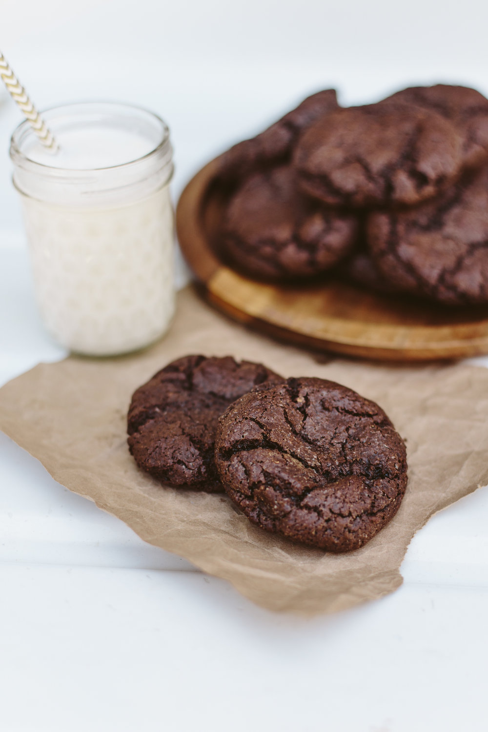 Keto Low Carb Flourless Chocolate Cookies