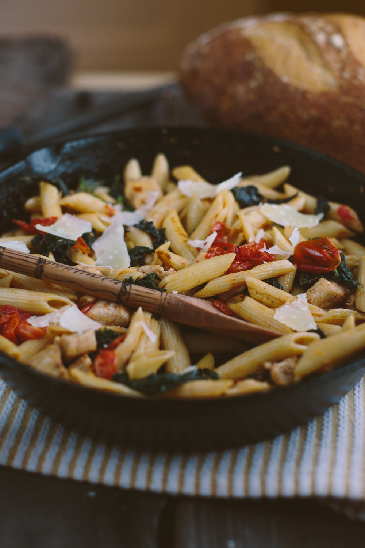 Nettle Florentine Pasta