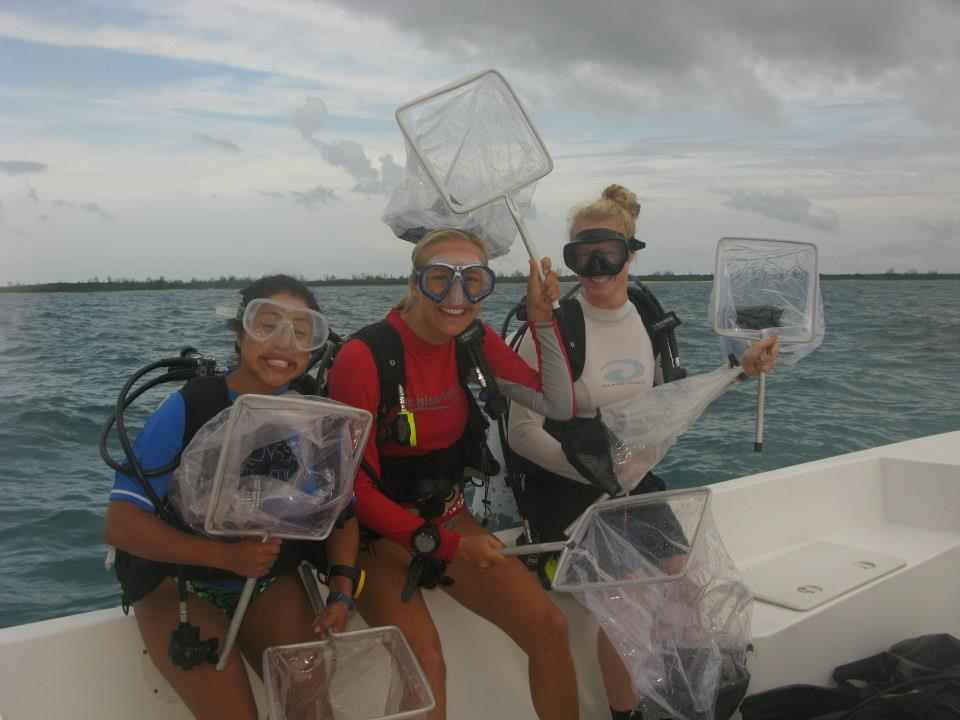 Lionfish research team