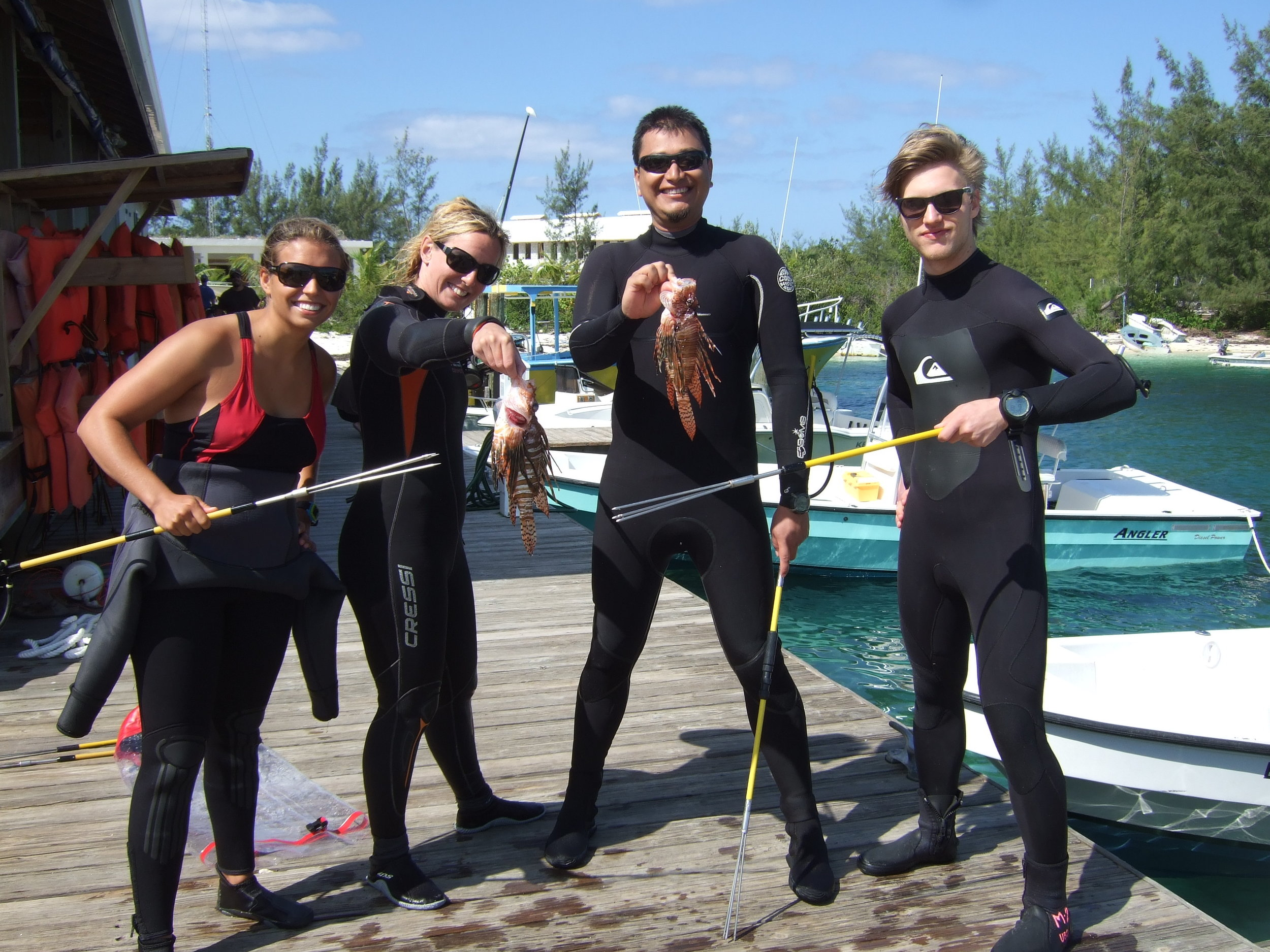Lionfish team
