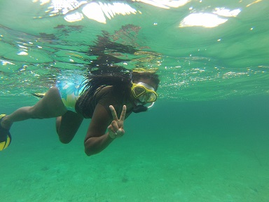 Bahamian fellow Garelle Hudson