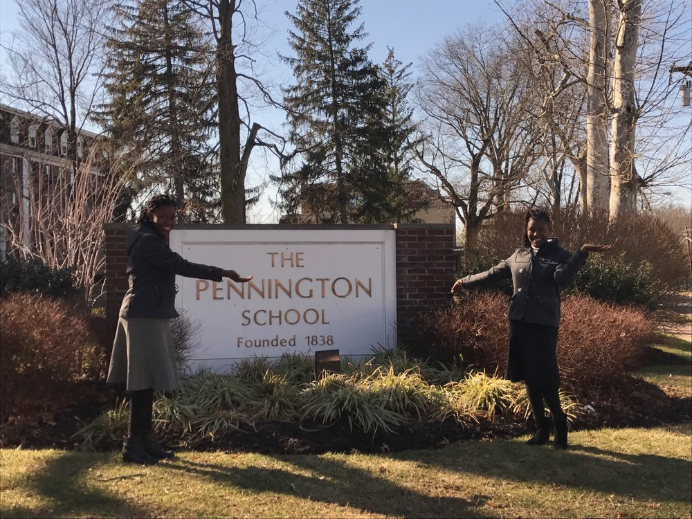 Tiia McKinney will be attending The Pennington School this fall. She toured the campus this January and absolutely loved the school, the community, the students, and the teachers! She felt so welcomed and had a wonderful reception by all. Tiia feels that Pennington will allow her to step out of her comfort zone, and seek international opportunities that might not be available otherwise. Tiia will learn a lot about Pennington from her IS-Buddy, Meg Long SP17!