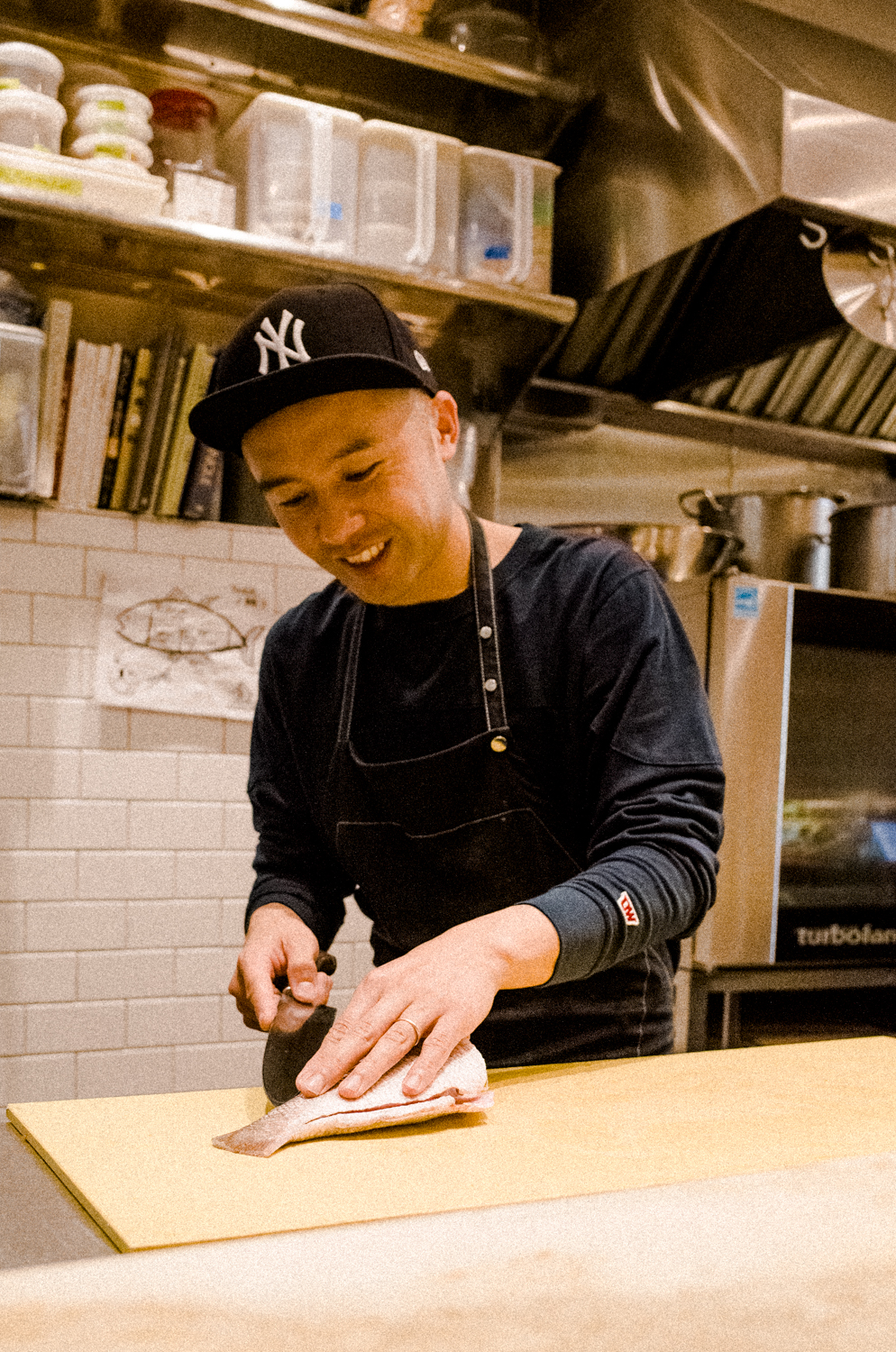 Yuji Haraguchi - Chef / Entrepreneur / Yankees Fan