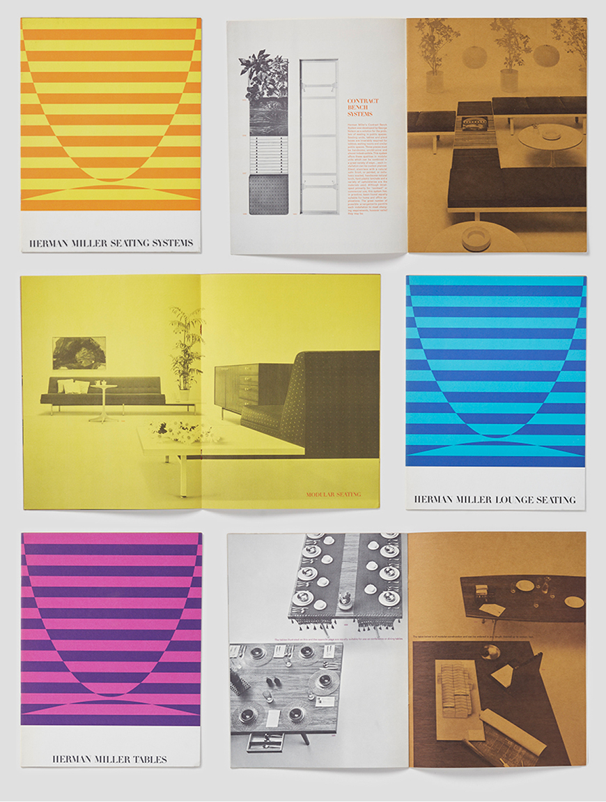 Herman Miller catalog designed by Tomoko Miho.