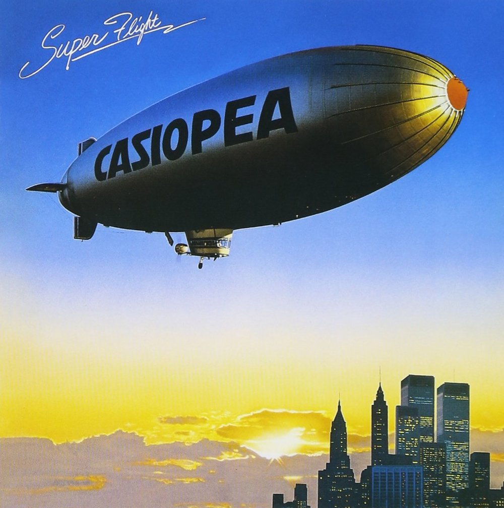 Casiopea- Super Flight (1979) .