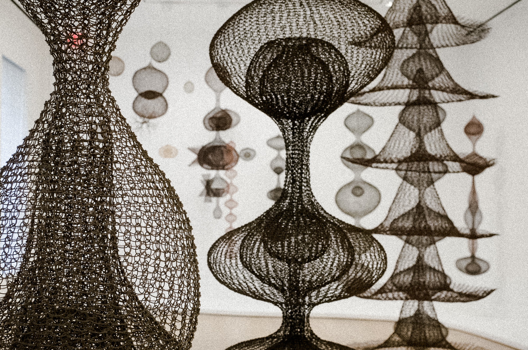 Ruth Asawa at the David Zwirner