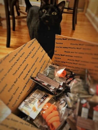 Some of the supplies for the December 3 class have arrived!