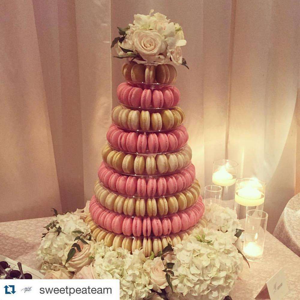 Macaron Tower by  JOY Macarons