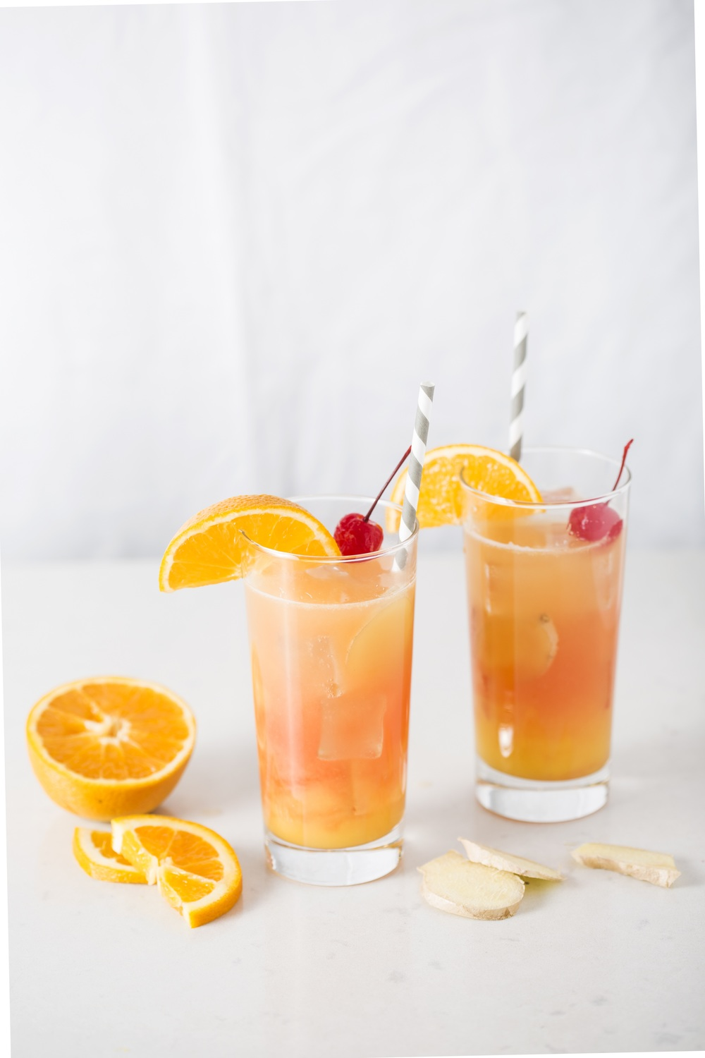 Ginger Pear Shirley Temples