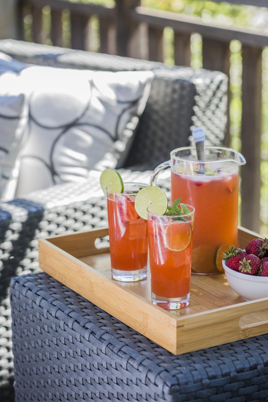 Strawberry Vodka Limeade