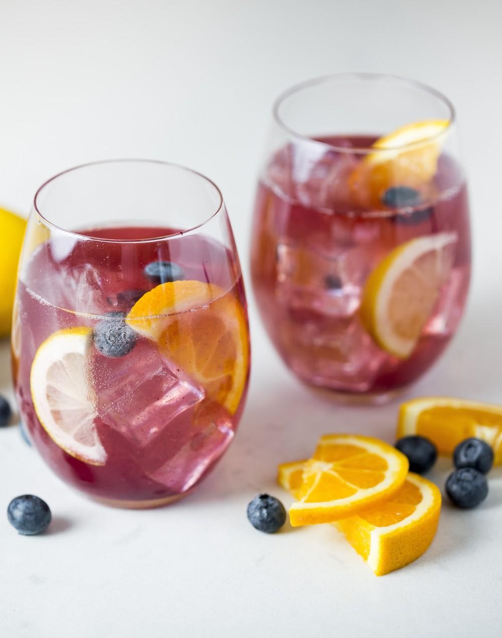 Blueberry Lemon Sangria