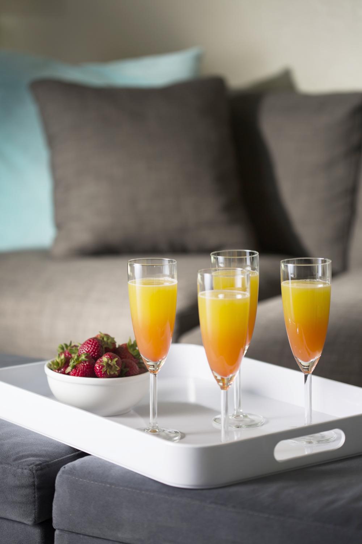 Tartly Champagne Mocktails