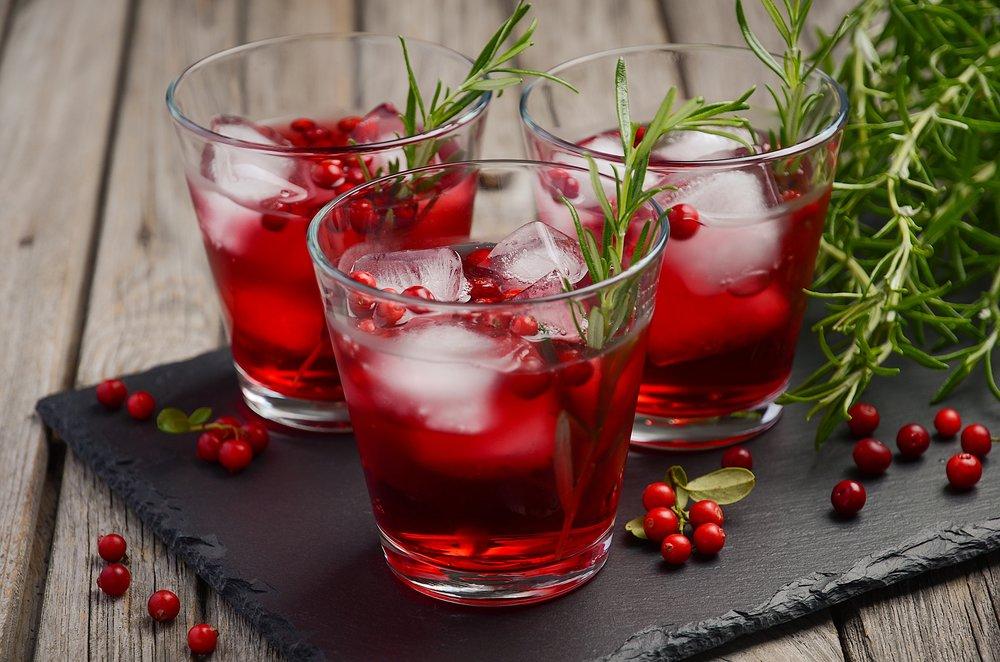 Cranberry Ginger Fizz