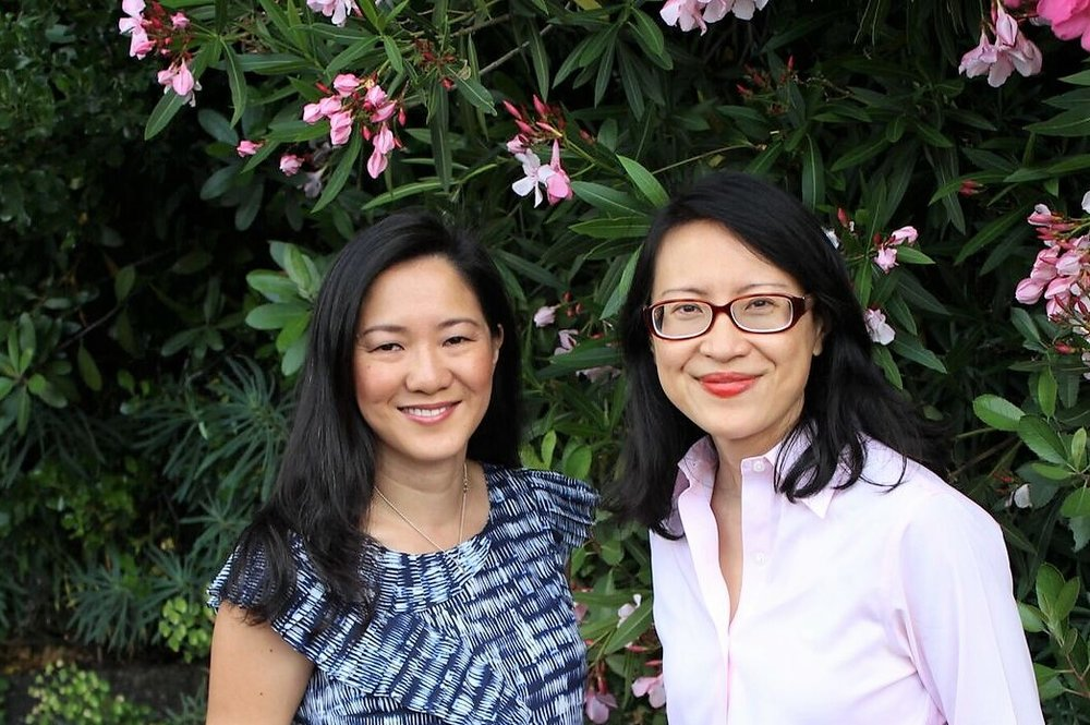 DIANA (Left) and Debbie (right), founders of tartly