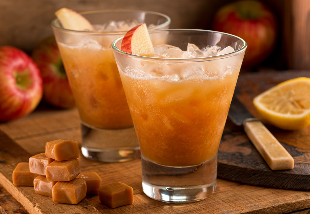 Tangy Cider Fizz