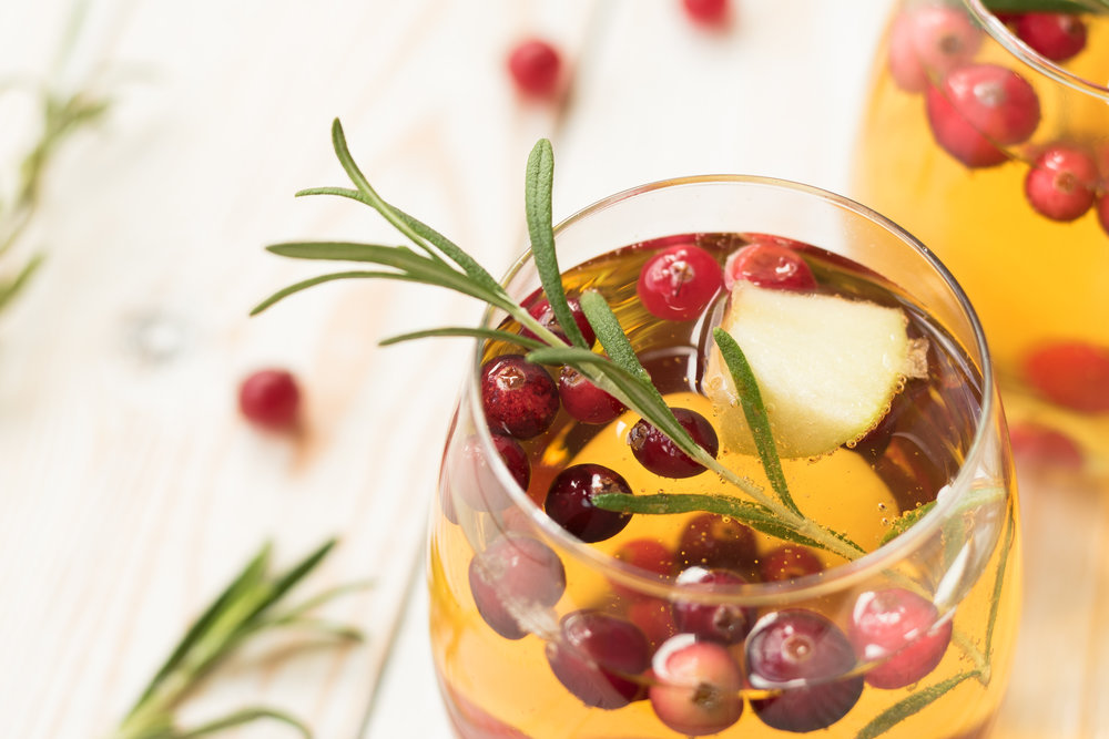 White Cranberry Spritzer