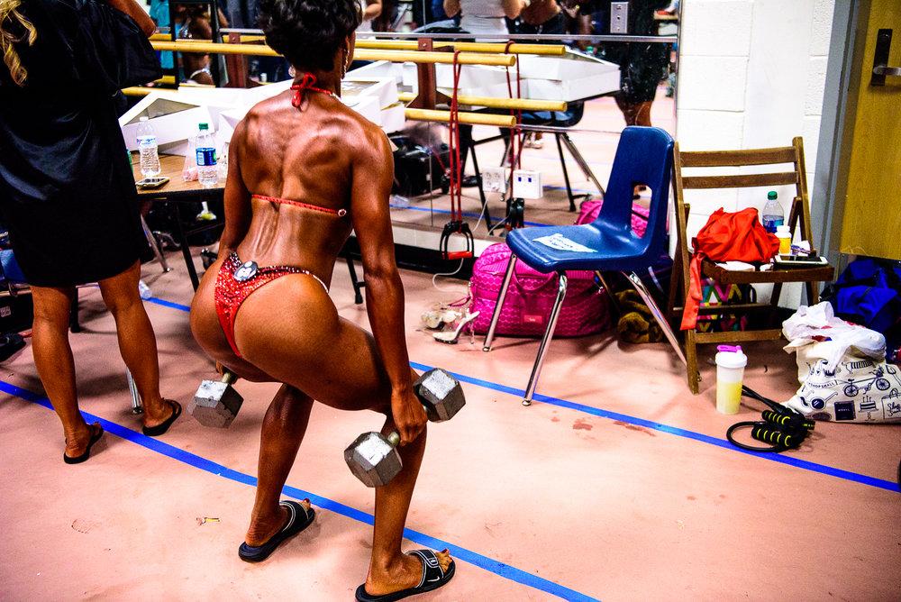 Vegetarian Bikini Bodybuilding Athlete India Jackson