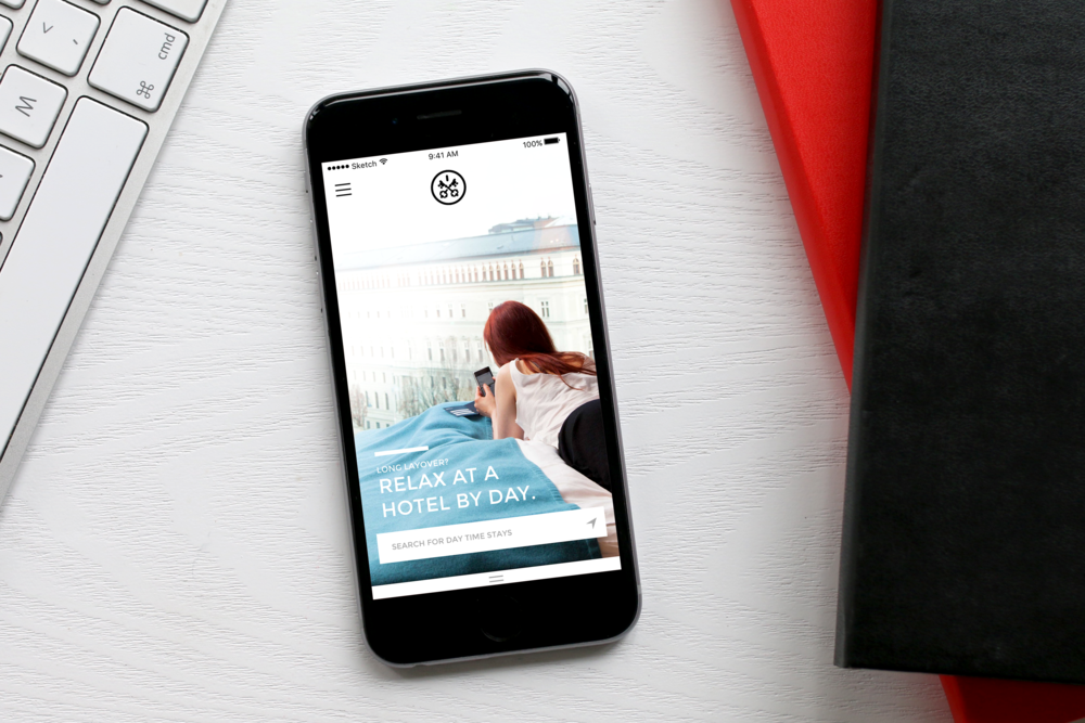 HOTELS BY DAY   UX/UI Mobile Design | Strategy & Branding, User Study, Research & Testing, Hi-Fidelity Prototyping