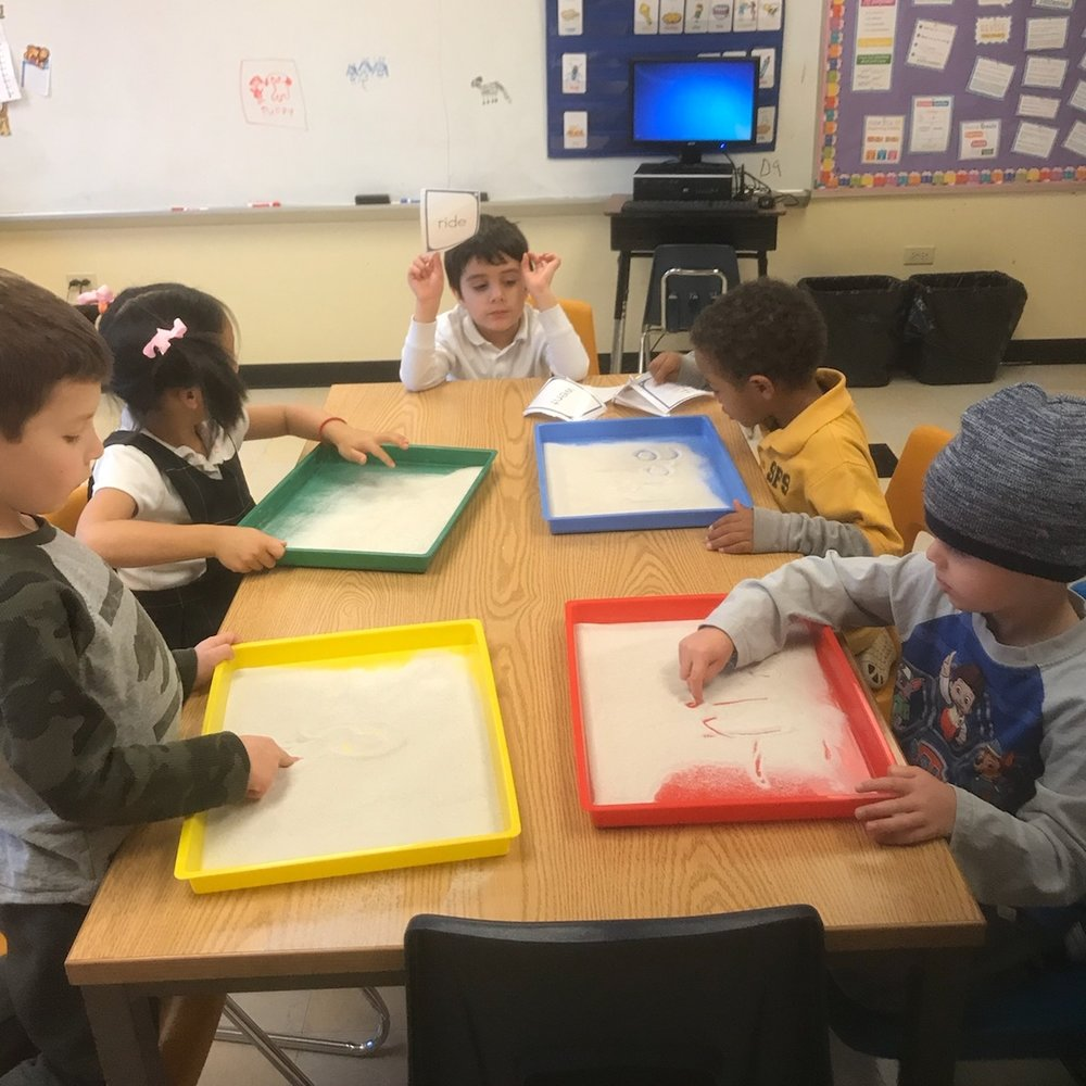 PreK and K sight words