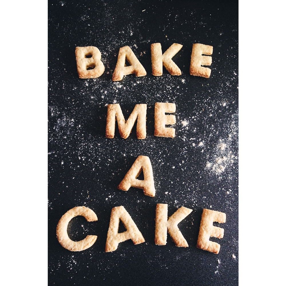 Butter Cookies: Bake Me A Cake.