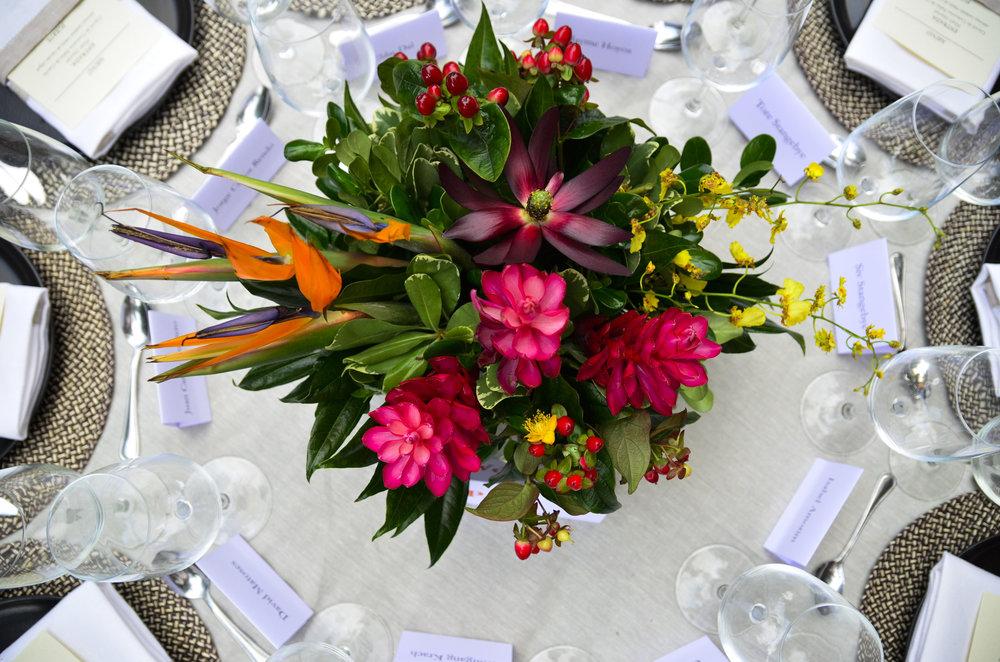 Montaje de Mesa Evento & Cocina para Evento Corporativo en Casa Marquéz de Valdehoyos.
