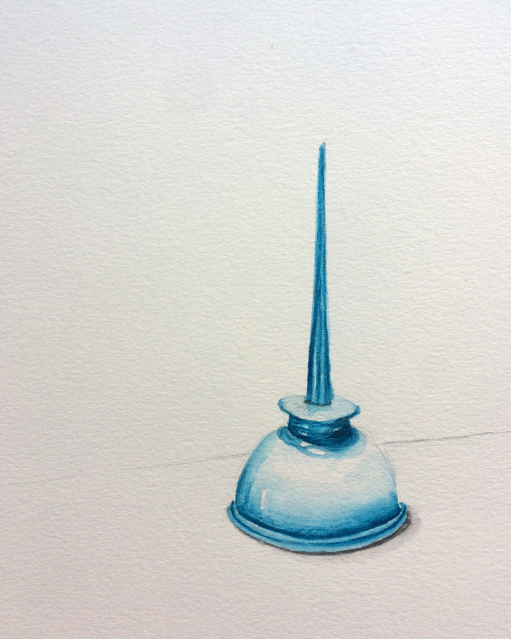 Portrait of an oil can.