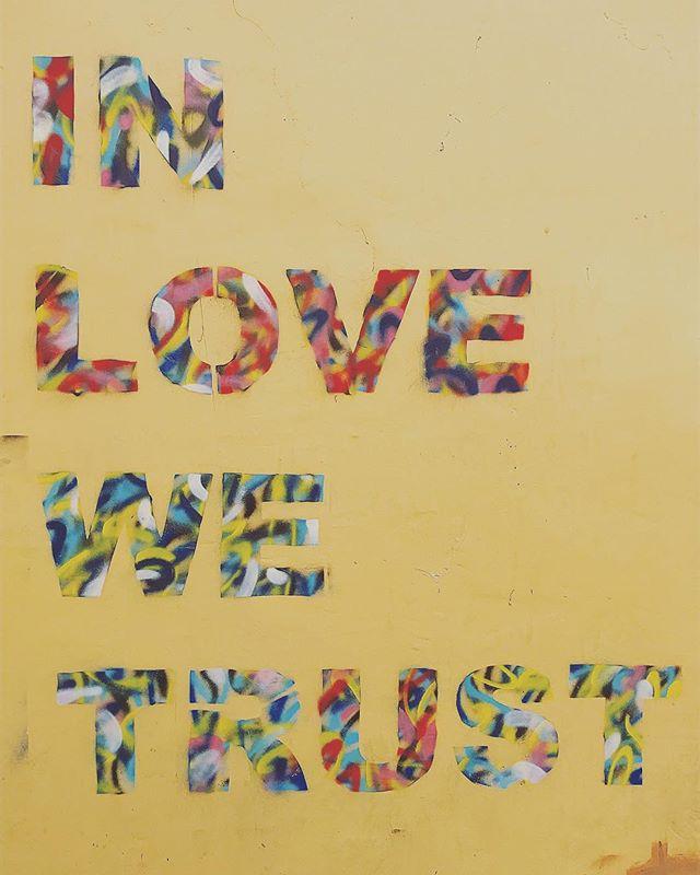 Truth. #inlovewetrust #streetart #telaviv #morelove #alwayslove #bubby #bubbylove