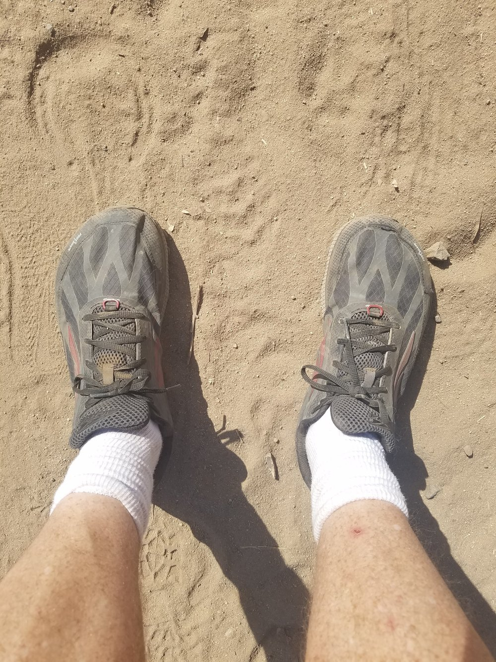 It's flat, but it's sand.