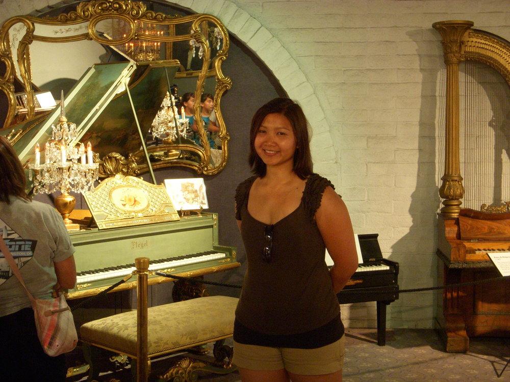 Mai and piano