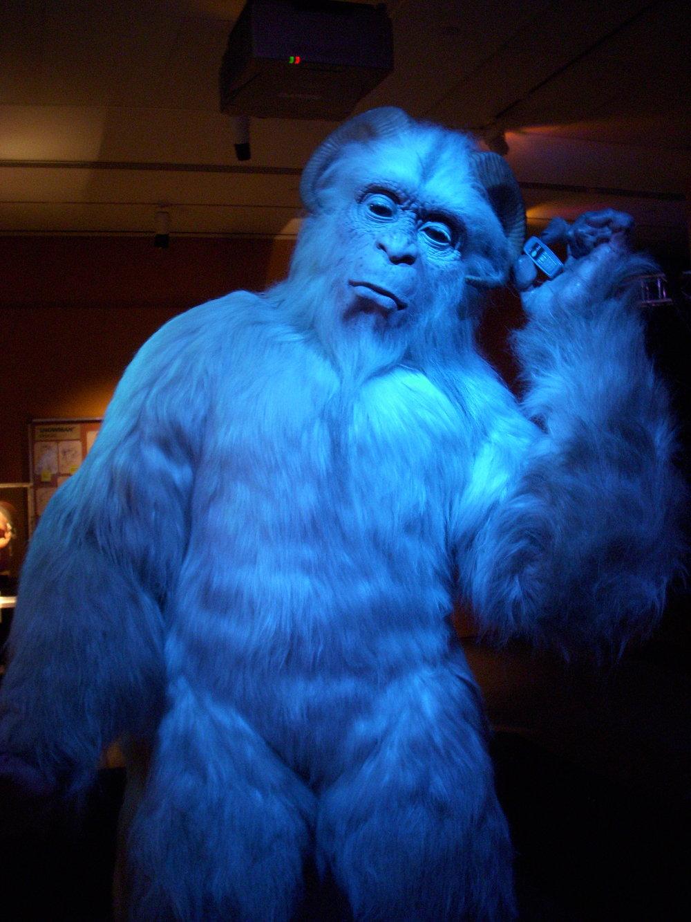 Big blue guy