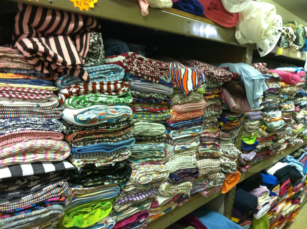 So much fabric