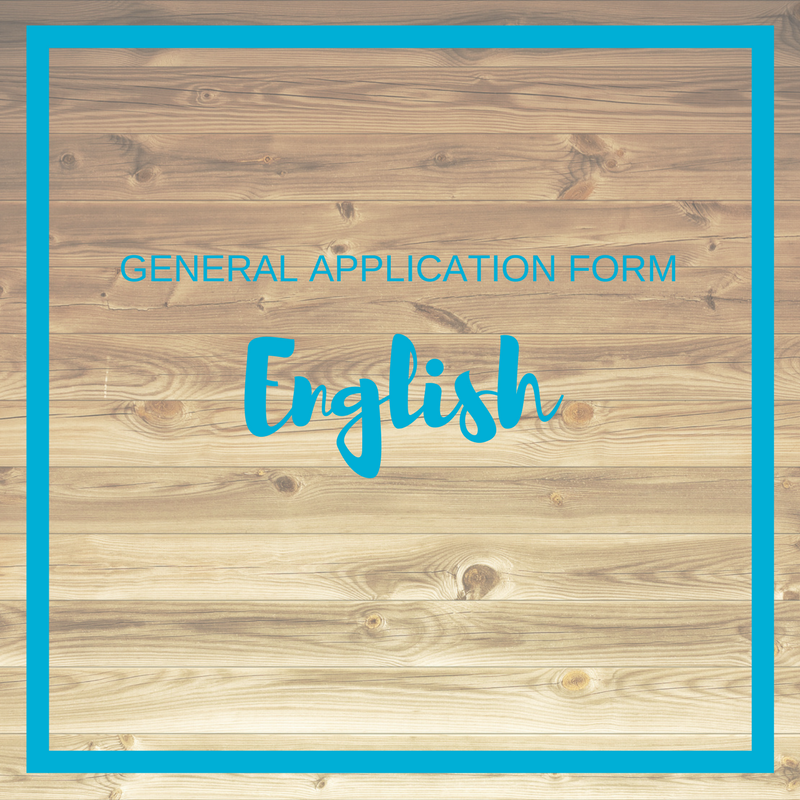 Click to download the General Application form in engish