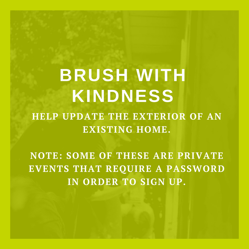 Brush with kindness