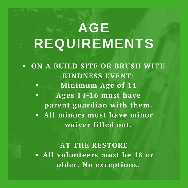 Age requirments
