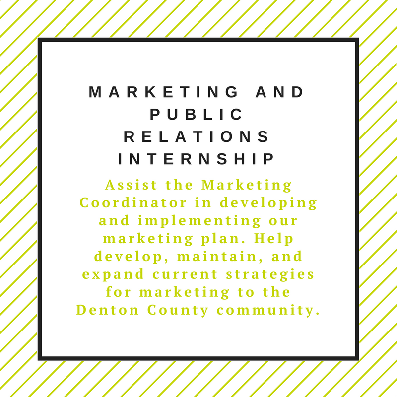 Marketing and Public Relations Internship