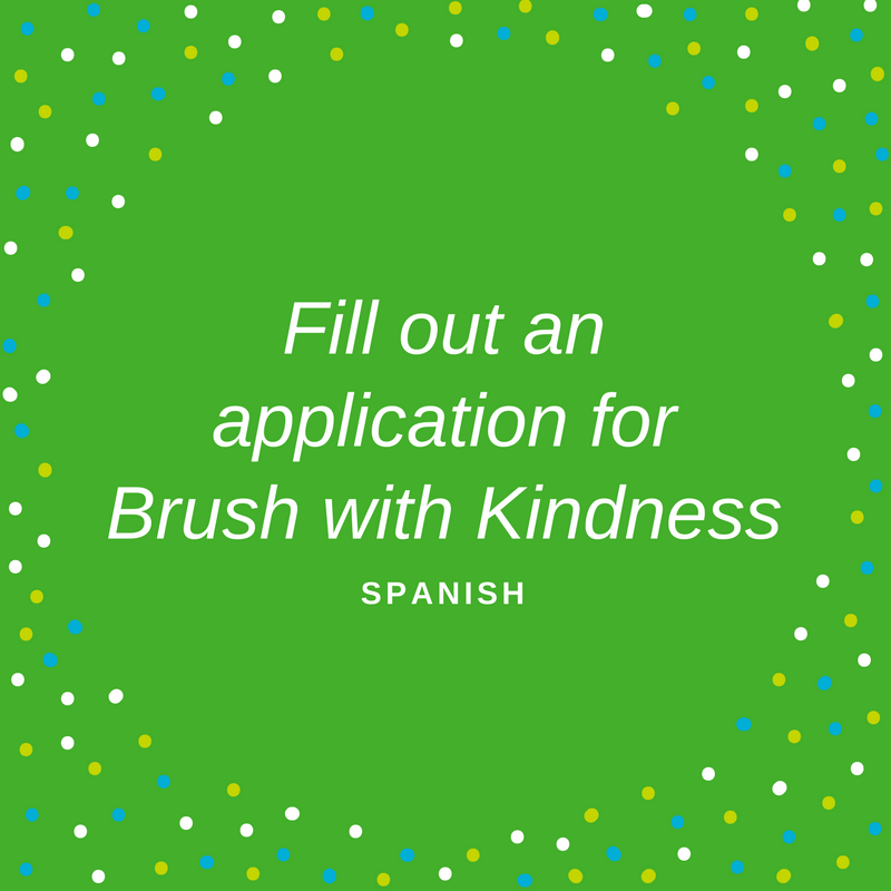Application for Brush with Kindness in spanish to see if your home qualifies