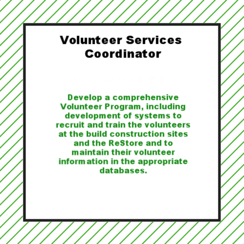 Volunteer Services Coordinator